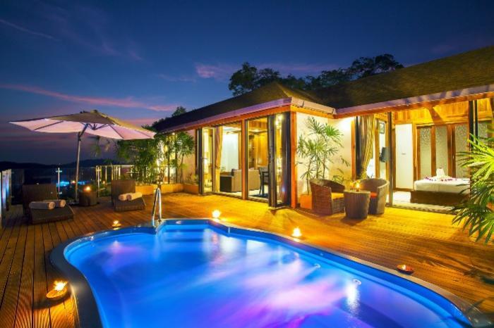 Phang Nga Mountain Club-Pool Deck - Sunrise Shot.jpg
