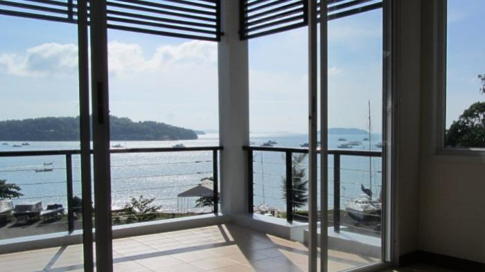 phuket sea view apartment for rent and sale