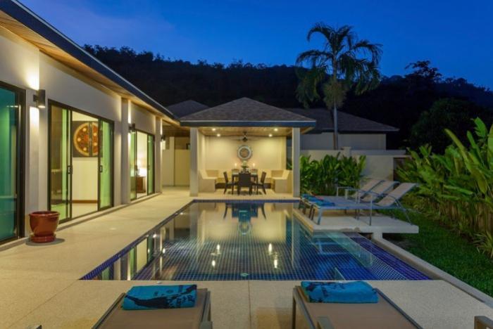 3 bedroom Pool Villa on Nai Harn Beach